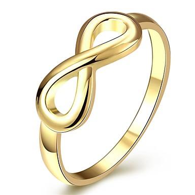 Naisten Sormus Korut Kulta Gold Plated Tin Alloy Bowknot Shape Yksilöllinen Geometrinen Uniikki Vintage Perus Friendship Euramerican söpö