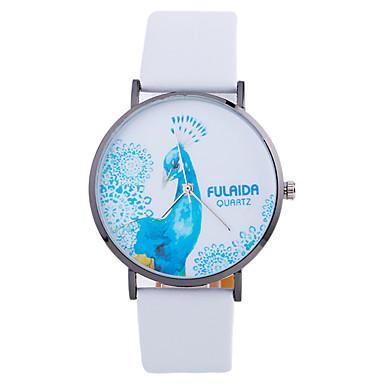 Modny Zegarek na nadgarstek Kwarcowy Skóra Pasmo Z Wisorkami Nowoczesne Na co dzień Kreatywne Czarny Biały Brązowy Różowy