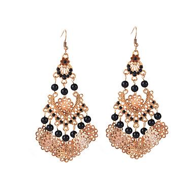 Γυναικεία Κρεμαστά Σκουλαρίκια Τιρκουάζ Συνθετικό Opal Φούντες Μοντέρνα Euramerican Ρητίνη Τυρκουάζ Κράμα Κοσμήματα Κοσμήματα Για Γάμου