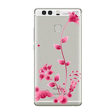 tok Για Huawei P9 Huawei P9 Lite Huawei P8 Huawei Huawei P9 Plus Huawei P8 Lite Huawei Mate 8 Διαφανής Με σχέδια Πίσω Κάλυμμα Λουλούδι