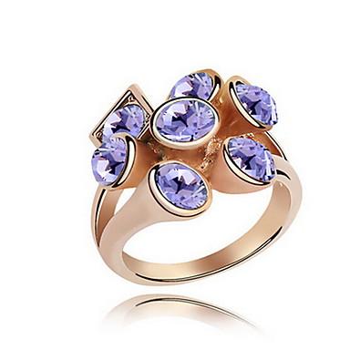 Γυναικεία Εντυπωσιακά Δαχτυλίδια Κοσμήματα Εξατομικευόμενο Βασικό Euramerican Συνθετικοί πολύτιμοι λίθοι Κοσμήματα Κοσμήματα Για Πάρτι