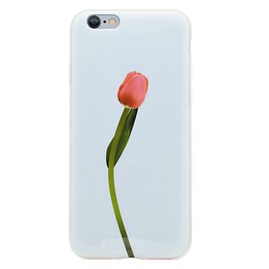Varten IMD Kuvio Etui Takakuori Etui Kukka Pehmeä TPU varten AppleiPhone 7 Plus iPhone 7 iPhone 6s Plus iPhone 6 Plus iPhone 6s iPhone 6