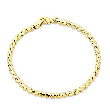Damskie Dla dziewczynek Bransoletki i łańcuszki na rękę Kryształ Przyjaźń Modny Posrebrzany Pozłacane Wąż Biżuteria Na Ślub Impreza