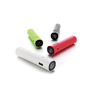 Τράπεζα ισχύς εξωτερική μπαταρία 5V #A Φορτιστής μπαταρίας Φακός Αντικαταστάσιμη μπαταρία LED