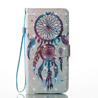 hoesje Voor Samsung Galaxy S8 Plus S8 Kaarthouder Portemonnee met standaard Flip Patroon Volledig hoesje Dromenvanger Hard PU-nahka voor