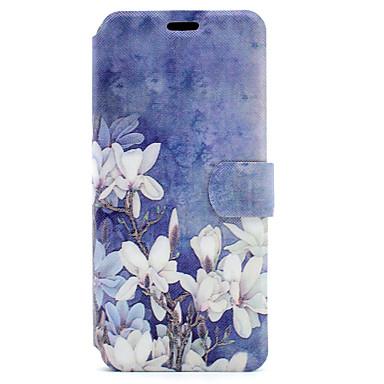Kılıf Na Samsung Galaxy S8 Plus S8 Etui na karty Z podpórką Flip Magnetyczne Wzór Pełne etui Kwiaty Twarde Skóra PU na S8 Plus S8