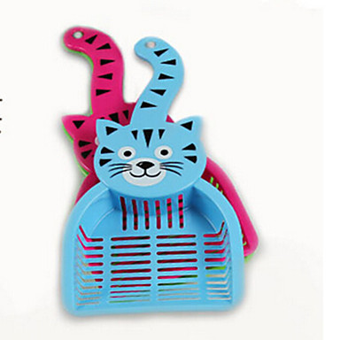 Pisici Câine Distribuitoare de Hrană Animale de Companie  Castroane & Hrănirea Impermeabil Portabil Faţă-Verso Culoare aleatorie