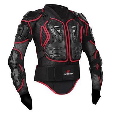 billige Beskyttelsesudstyr-herobiker motorcykel jakke fuld krop rustning jakke rygsæk bryst beskyttelsesudstyr motorcross racing moto beskyttelse