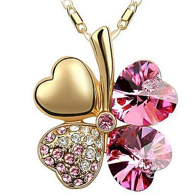 للمرأة قلب تصميم فريد قلائد الحلي مجوهرات كروم قلائد الحلي ، هدية يوميا فضفاض