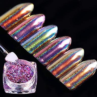 6box Nail Art Decoration tekojalokivi Pearls meikki Kosmeettiset Nail Art Design