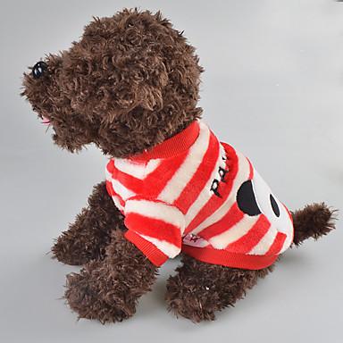 Câine Tricou Îmbrăcăminte Câini Casul/Zilnic Animal Rosu Albastru