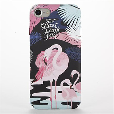 Için Temalı Pouzdro Arka Kılıf Pouzdro Flamingo Sert PC için Apple iPhone 7 Plus iPhone 7 iPhone 6s Plus iPhone 6 Plus iPhone 6s iphone 6