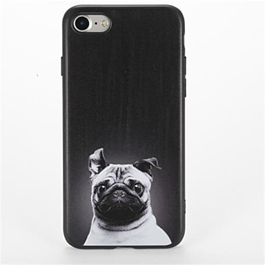 Pouzdro Uyumluluk Apple iPhone 7 Plus iPhone 7 Temalı Arka Kapak Köpek Yumuşak TPU için iPhone 7 Plus iPhone 7 iPhone 6s Plus iPhone 6s