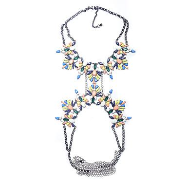 Γυναικεία Κοσμήματα Σώματος Body Αλυσίδα / κοιλιά Αλυσίδα Φύση Μοντέρνα Συνθετικοί πολύτιμοι λίθοι Κράμα Geometric Shape Κοσμήματα Για