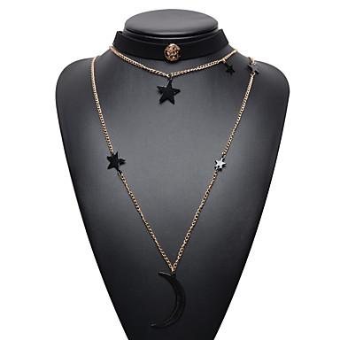 Kadın's Gerdanlıklar Mücevher Mücevher Sentetik Taşlar alaşım Sallantılı Stil Moda Euramerican Mücevher Uyumluluk Günlük