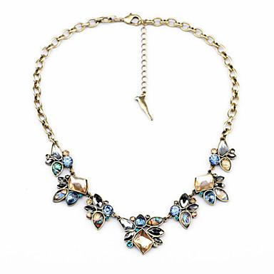 Pentru femei Toroane Coliere Cristal Flower Shape Design Unic Euramerican costum de bijuterii Bijuterii Pentru