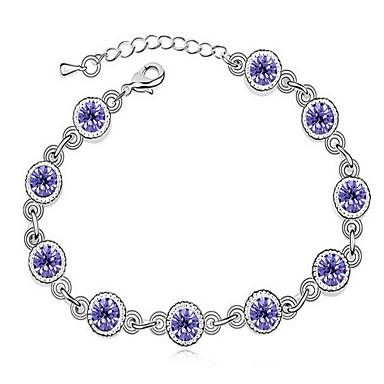 Damskie Bransoletki ze skóry Biżuteria Przyjaźń Modny Kryształ Stop Geometric Shape Biżuteria Na Impreza Urodziny