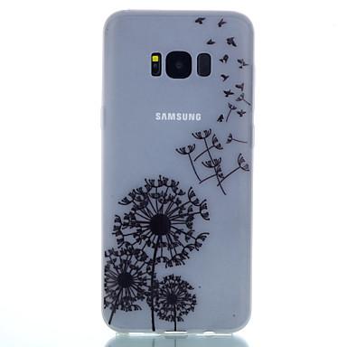Maska Pentru Samsung Galaxy S8 Plus S8 Stralucire in intuneric Mătuit Translucid Model Carcasă Spate Păpădie Moale TPU pentru S8 S8 Plus