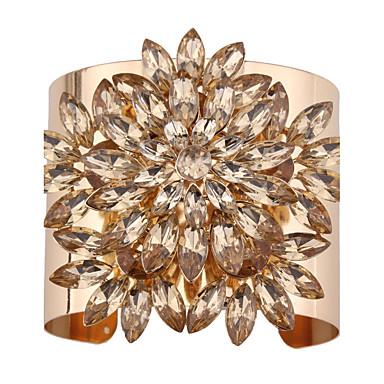 Damskie Bransoletki cuff Biżuteria Modny Postarzane Styl Punk Syntetyczne kamienie szlachetne Stop Geometric Shape Biżuteria Na Specjalne