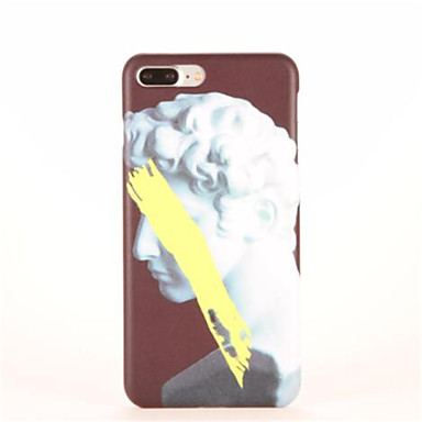 Etui Käyttötarkoitus Apple iPhone 7 Plus iPhone 7 Kuvio Takakuori Piirretty Kova PC varten iPhone 7 Plus iPhone 7 iPhone 6s Plus iPhone