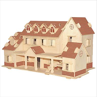 أحجار البناء قطع تركيب3D تركيب تركيب خشبي ألعاب تربوية بناء مشهور الزراعة الصينية بيت اصنع بنفسك 1pcs للأطفال للرجال للمرأة الزوجين فتيات