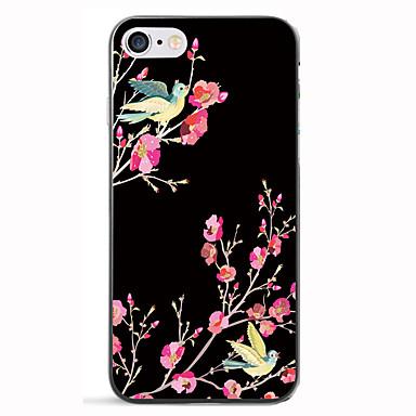 Για Με σχέδια tok Πίσω Κάλυμμα tok Λουλούδι Μαλακή TPU για AppleiPhone 7 Plus iPhone 7 iPhone 6s Plus iPhone 6 Plus iPhone 6s iPhone 6