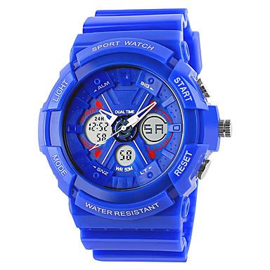 Έξυπνο ρολόι Ανθεκτικό στο Νερό Πολυλειτουργία Μεγάλη Αναμονή Χρονόμετρο Ξυπνητήρι Ημερολόγιο Χρονογράφος Ασύρματη Άλλο Όχι Υποδοχή