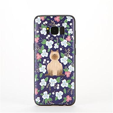Na Wzór Kılıf Etui na tył Kılıf Kwiat Miękkie TPU na Samsung S8