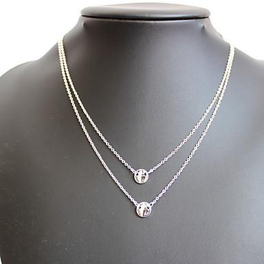 Damskie Naszyjniki z wisiorkami Biżuteria Biżuteria Syntetyczne kamienie szlachetne Żywica Stop Spersonalizowane Natura euroamerykańskiej