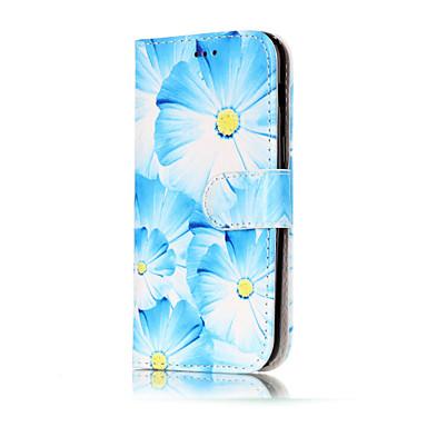 Pouzdro Uyumluluk Samsung Galaxy A5(2017) A3(2017) Cüzdan Kart Tutucu Satandlı Flip Temalı Tam Kaplama Çiçek Sert PU Deri için A3 (2017)