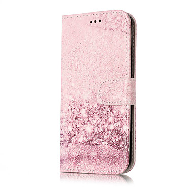 Pouzdro Uyumluluk Samsung Galaxy J7 (2016) J5 (2016) Kart Tutucu Cüzdan Satandlı Flip Temalı Tam Kaplama Kılıf Mermer Sert PU Deri için