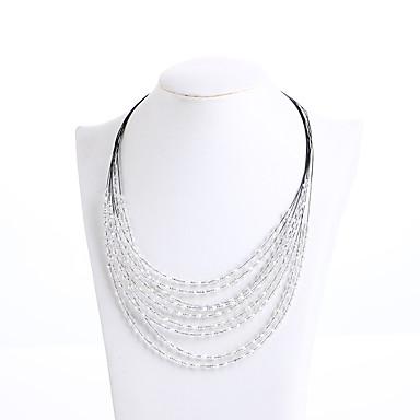 Damskie Naszyjniki choker Kryształ Modny Osobiste euroamerykańskiej Biżuteria Na Ślub Impreza