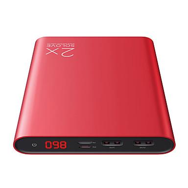 Bank zewnętrznego zasilania baterii 5V #A Ładowarka z kablem Wiele wyjść Automatyczne dopasowanie do natężenia LCD