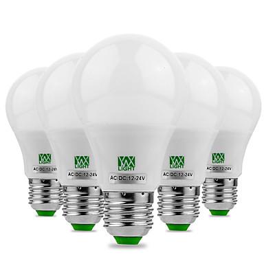 YWXLIGHT® 5W 400-500 lm E26/E27 مصابيح كروية LED 10 الأضواء SMD 5730 ديكور أبيض دافئ أبيض كول أس 12V DC 12-24V
