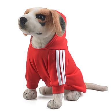 Σκύλος Φούτερ με Κουκούλα Χριστούγεννα Ρούχα για σκύλους Κλασσικό Χαριτωμένο Καθημερινά Γενέθλια Γιορτή Μοντέρνα Αθλήματα Γάμος