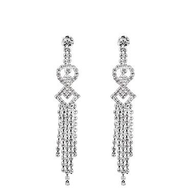 Κρεμαστά Σκουλαρίκια / Στρας Μοντέρνα Euramerican Κοσμήματα Λευκό Κοσμήματα Γάμου Πάρτι Καθημερινά Causal 1 ζευγάρι