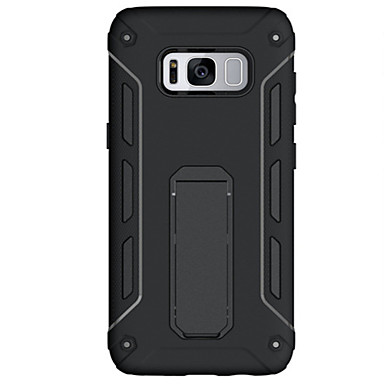 Maska Pentru Samsung Galaxy S8 Plus S8 Anti Șoc Cu Stand Capac Spate Culoare solidă Greu PC pentru S8 Plus S8