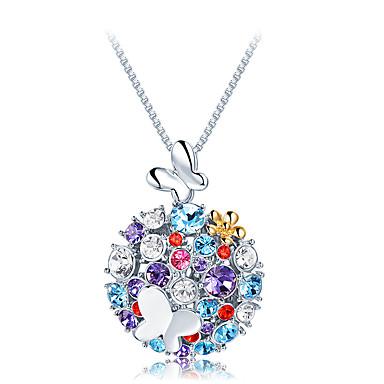 Pentru femei Coliere cu Pandativ Cristal Design Unic Cute Stil Euramerican Bijuterii Pentru Nuntă Petrecere Zi de Naștere