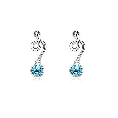 Pentru femei Cercei Stud Cristal Personalizat Design Unic Euramerican stil minimalist Modă Bijuterii Pentru Nuntă Petrecere Zi de Naștere
