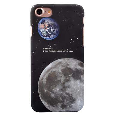 Για Θήκες Καλύμματα Λάμπει στο σκοτάδι Με σχέδια Πίσω Κάλυμμα tok Ουρανός Τοπίο Σκληρή PC για Apple iPhone 7 Plus iPhone 7 iPhone 6s Plus