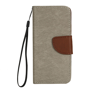 Kılıf Na Samsung Galaxy S8 Plus S8 Portfel Etui na karty Z podpórką Flip Futerał Solid Color Twarde Sztuczna skóra na S8 S8 Plus S7 edge