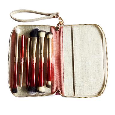1set Perie pentru sprâncene Pensule Tuș Perie Corector Perie Pudră Perie Fond Altă perie Perie  Fard Perie Buze Păr sintetic Portabil