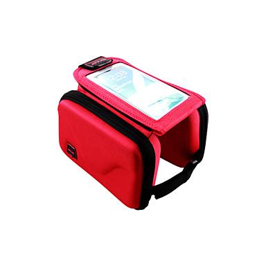Cep Telefonu Çanta Bisiklet Çerçeve Çantaları 5.7 inç Giyilebilir Çok Fonksiyonlu Dokunmatik Ekran Bisiklet için Iphone 8 Plus / 7 Plus /