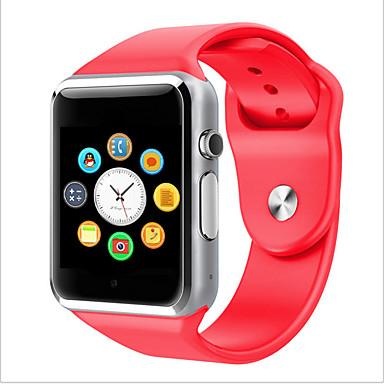 Χαμηλού Κόστους Ανδρικά ρολόγια-Ανδρικά Γυναικεία Έξυπνο ρολόι Ψηφιακό ρολόι Υβριδικό ρολόι Ψηφιακή καουτσούκ Πολύχρωμο Οθόνη Αφής Ημερολόγιο Χρονογράφος Ψηφιακό Πράσινο Μπλε Ροζ / Βηματόμετρα / Ταχύμετρο / Επικοινωνία
