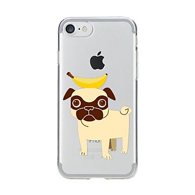غطاء من أجل iPhone 7 Plus iPhone 7 iPhone 6s Plus أيفون 6بلس iPhone 6s ايفون 6 أيفون 5 أيفون 5C أيفون 4/4S Apple شفاف نموذج غطاء خلفي كلب