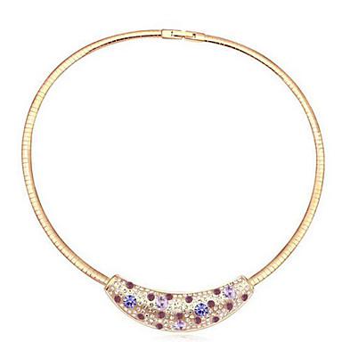 Pentru femei Coliere Choker Bijuterii Circle Shape Design Circular Design Unic Adorabil Bijuterii Pentru Petrecere