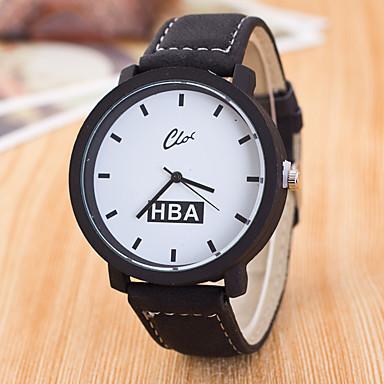 Bărbați Ceas Sport Ceas Elegant Ceas La Modă Ceas de Mână Chineză Quartz Piele Autentică Bandă Charm Casual Creative MulticolorNegru Gri