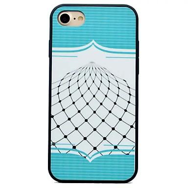 إلى ضد الصدمات IMD مثلج غطاء غطاء خلفي غطاء خطوط / أمواج قاسي PC إلى Apple فون 7 زائد فون 7 iPhone 6s Plus iPhone 6 Plus iPhone 6s أيفون 6