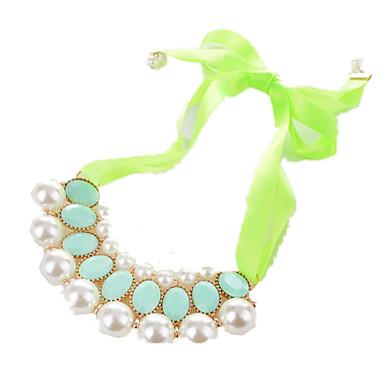 Pentru femei Altele Personalizat Panglici Imitație de Perle Modă Euramerican Coliere Imitație de Perle Imitație de Perle Reșină Nailon
