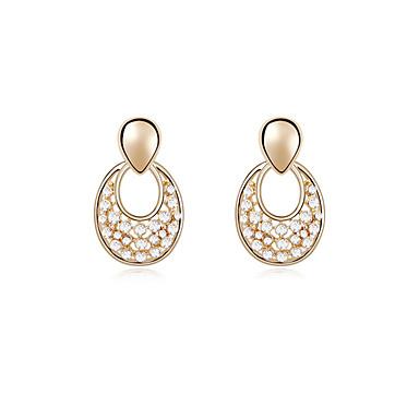 Pentru femei Cercei Stud Cristal Personalizat Design Unic Euramerican Bijuterii Pentru Nuntă Petrecere Zi de Naștere